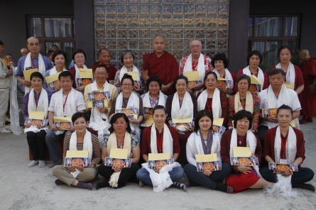 43 (Group Photo with Holiness Karmapa)