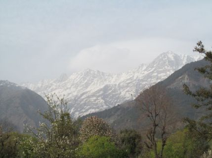 2_Himalayan Mountains Enroute to Sherabling