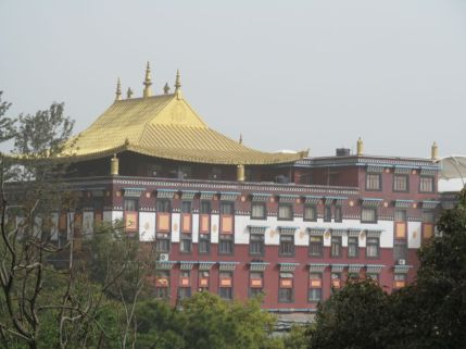 3_View of Sherabling Monastery