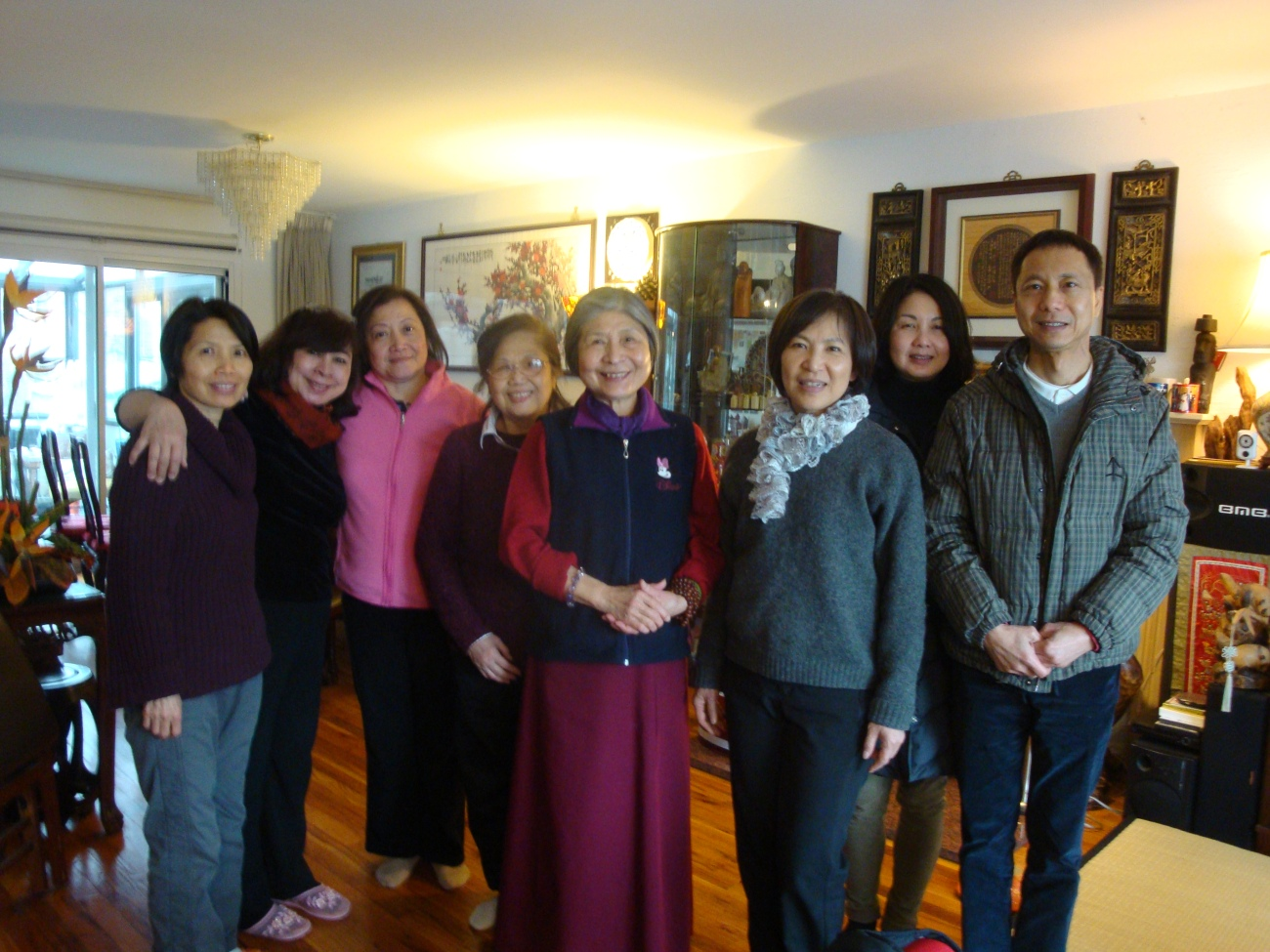 Dorje Palmo with New York Branch in February