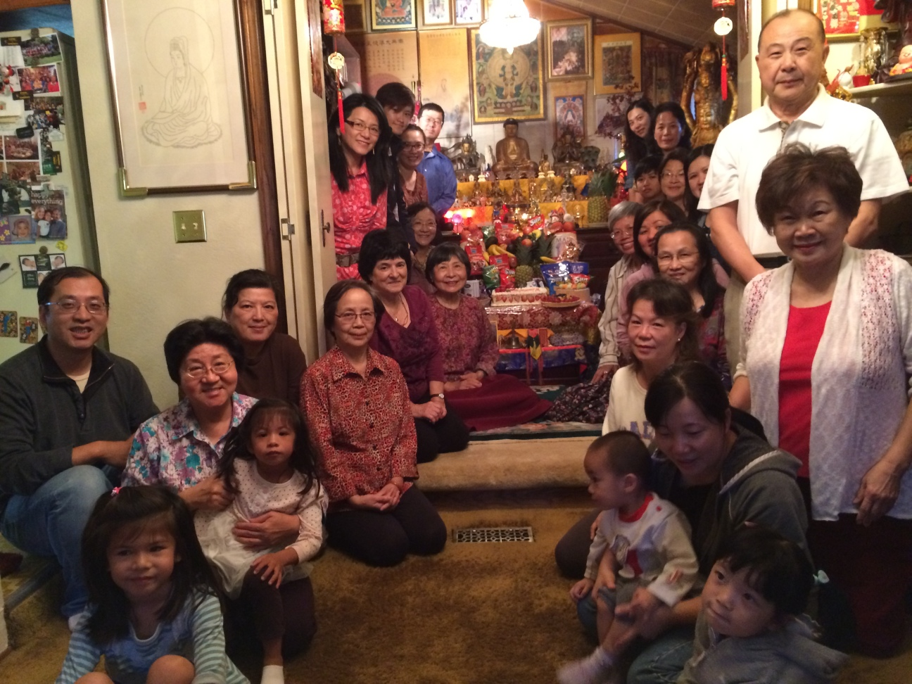 Medicine Buddha Birthday Group Photo