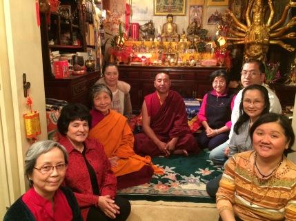 Group with Lama Lekshey