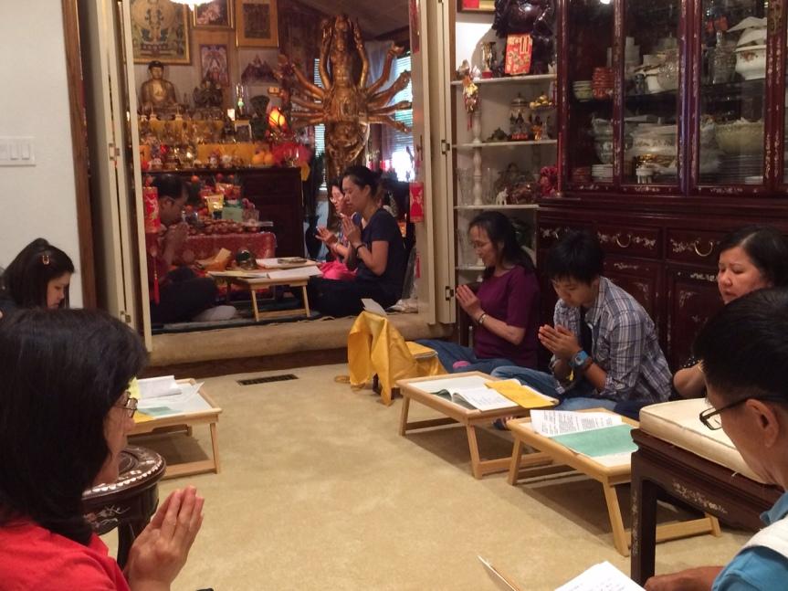 Chanting Mantra