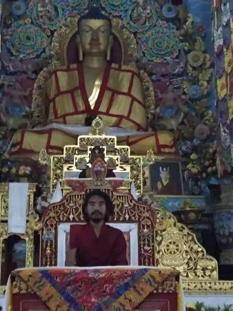 Rinpoche at Tergar Bodhgaya