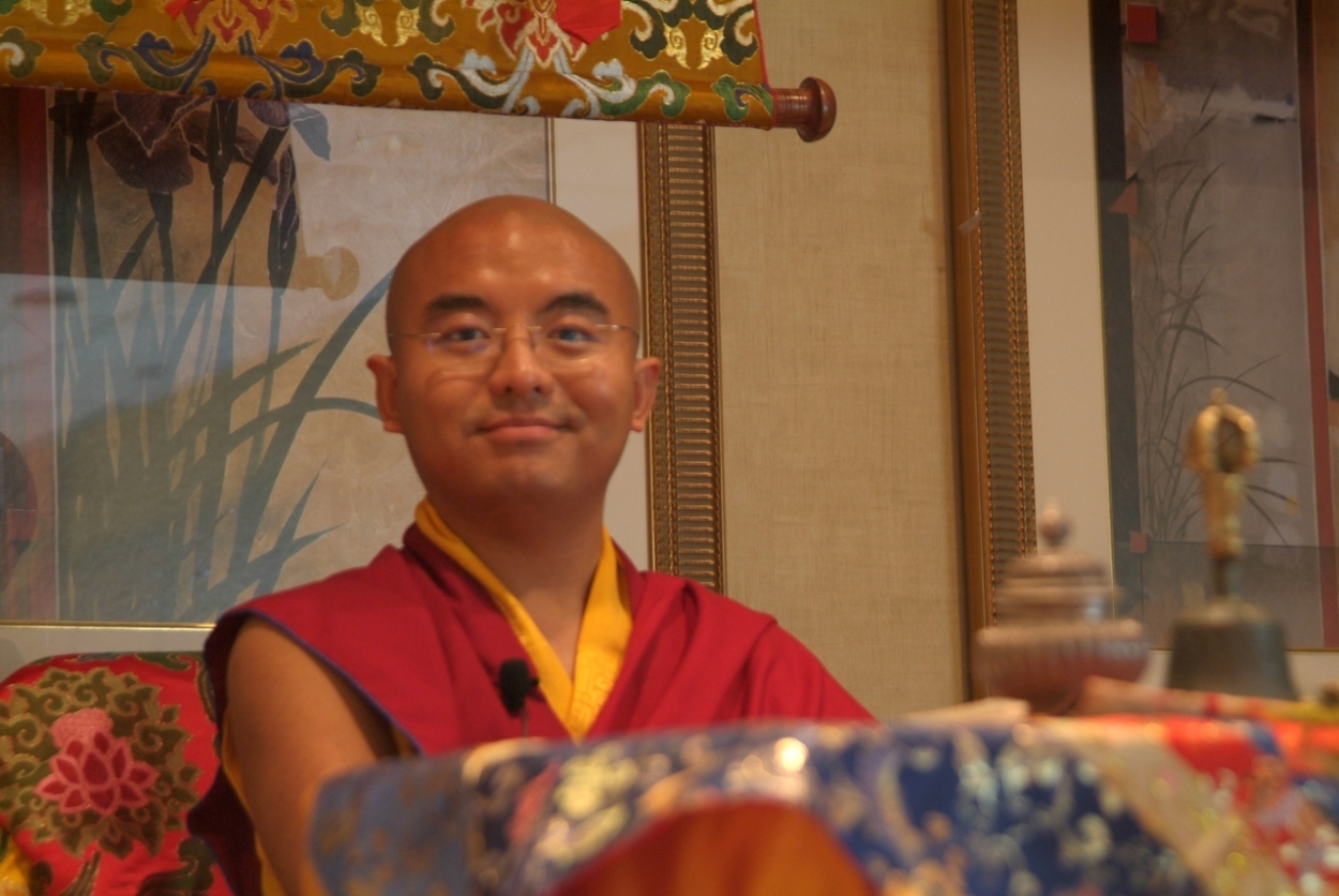 Rinpoche at Flushing