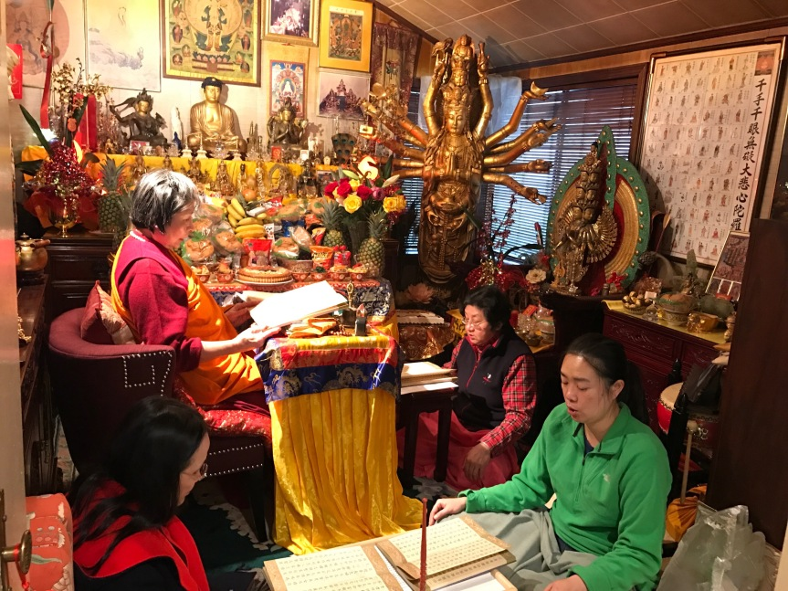Chanting Diamond Sutra
