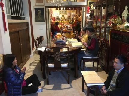 Chanting Four Arm Chenrezig Sutra