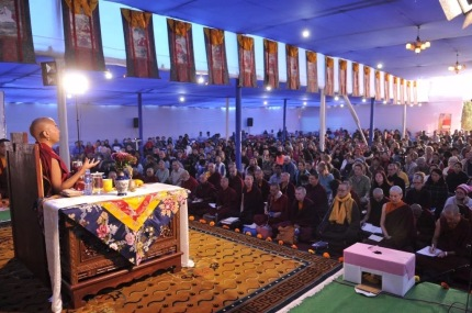 27 Rinpoche Teaching at Tergar Olsel Ling