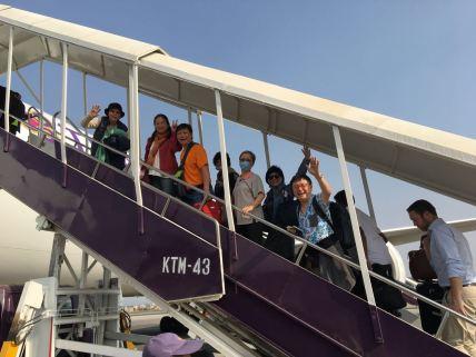 49 Departing Nepal